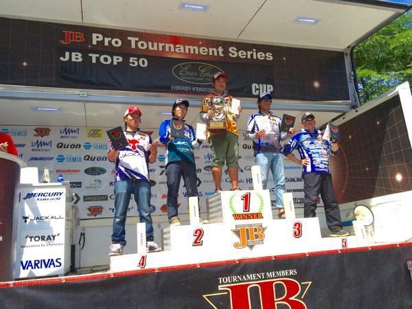 新時代到来!?五十嵐選手が逆転の2勝目!2015JB TOP50第4戦檜原湖Day3