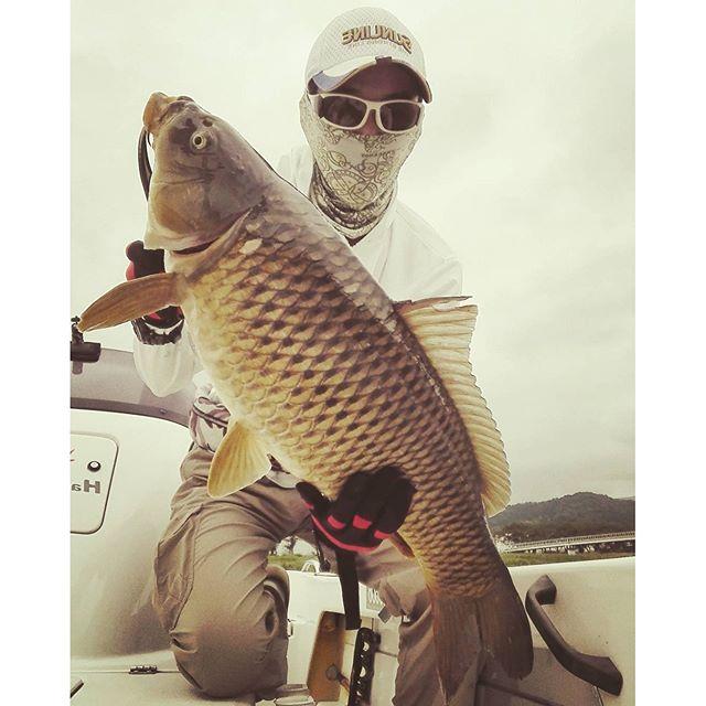 余裕の5kgオーバー。 #魚種違い  #hamanako #hot