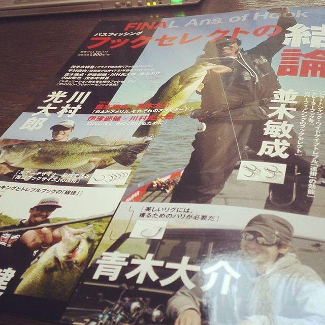"""フックマニアのバイブル、""""FINAl Ans. of Hook"""" #fina #フックセレクトの結論 #tnamiki #daisukeaoki #keniyobe #koutaroukawamura"""