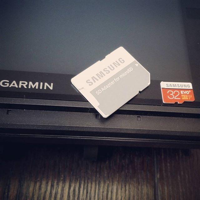 ガーミン用SDカード、サムスン製マイクロSDHC32GB使えました! #garmin #fishfinder #microsd #class10 #samsung #evo+ #アマゾンで人気No1だったやつ #とりあえず適合するっぽいです