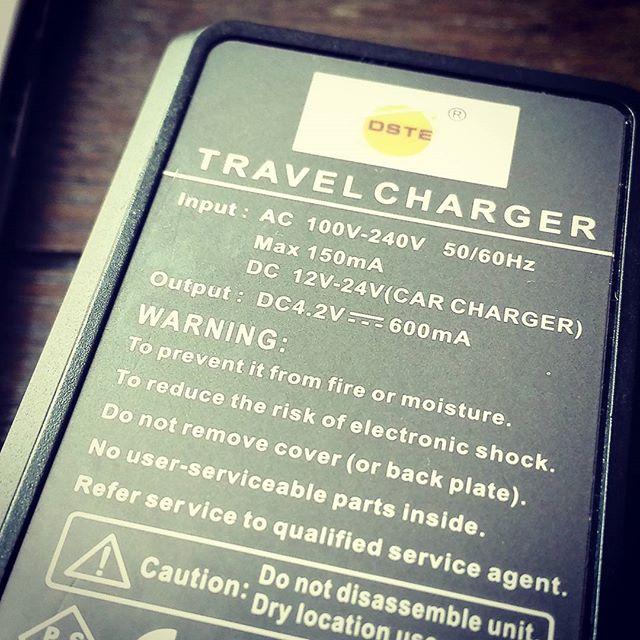 ちなみに充電器は大体、日本のがそのまま使えました…