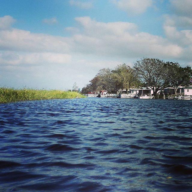 湖畔のキャンプサイト、一杯整備されてて羨ましいです…