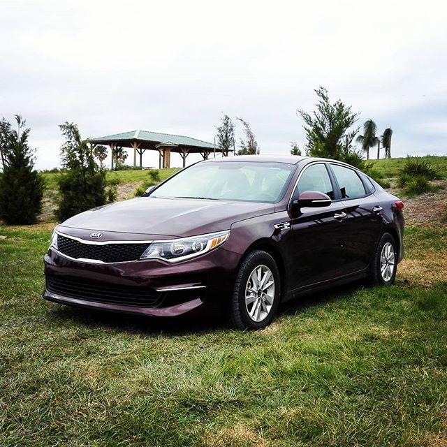 そういえば、レンタカーで借りたKIAはなかなか良い車でした… #kia #optima #レンタカー #アメリカ #フロリダ
