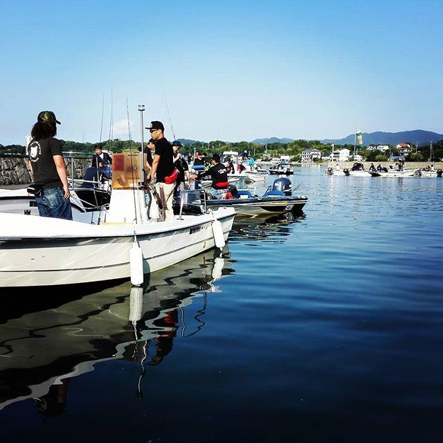 2018Js浜名湖みっかび釣り大会、スタートです! #js浜名湖みっかび釣り大会