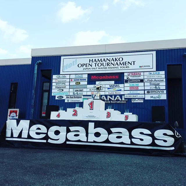 浜名湖オープントーナメント最終戦、いよいよ始まります…!#hot #浜名湖 #megabass