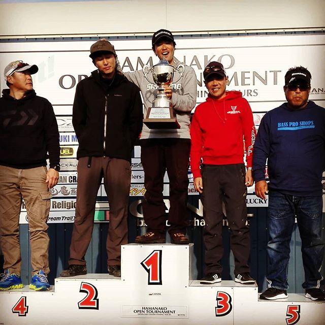 そして最後は、レジェンドのチャンプ獲得で幕を閉じました…!#浜名湖オープントーナメント #ラスト #浜名湖のレジェンド #黒田健史 #予告AOY #確かに宣言通りだけど #デッドフィッシュが無かったら #優勝してたのはナイショです…