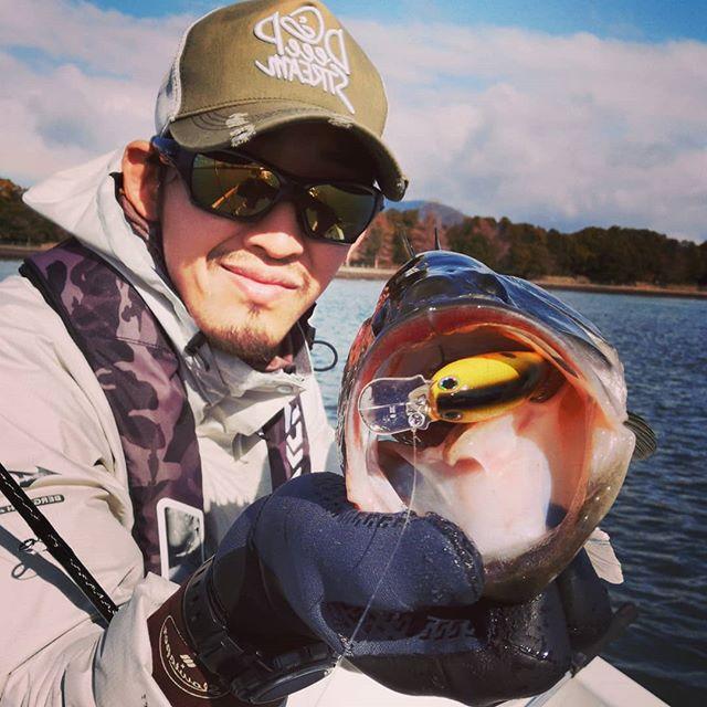 早春シャロークランク、釣れてます…#琵琶湖 #バスフィッシング #クランクベイト #ノリーズ #nories #ショットオメガビッグ #今年は春の訪れが早い? #あるいは冬からずっとシャローに居たか…