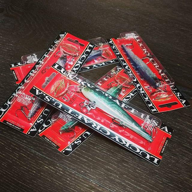 セール品をまとめ買い!こんな事やってるから、無限にルアーが増えていくんですよね…#ラッキークラフト #luckycraft #ポインター #112MR #pointer #アメリカでは大定番 #大森貴洋 #takahirooomori #500円なら買い占めますよね…