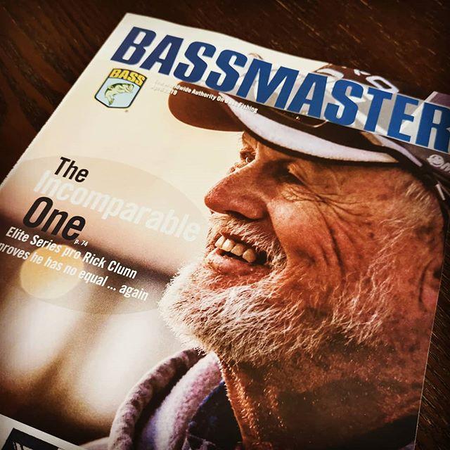 最年長優勝記録更新のリック・クラン。押しも押されぬ真のレジェンドですよね…#rickclunn #bass #バスマスター #bassmaster #エリート #2019開幕戦 #優勝 #なんと御年72歳 #生きる伝説 #ホント生涯スポーツですよね…