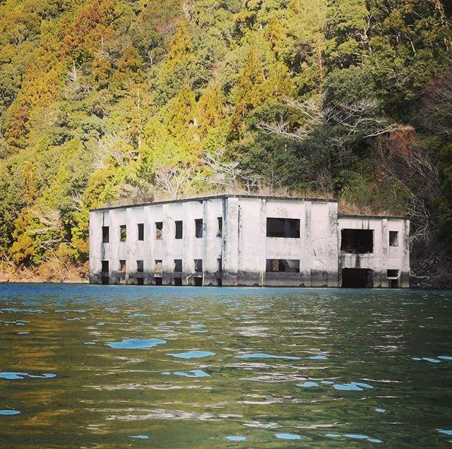 初めての七色ダム。フォトジェニックな景色で一杯です…#七色ダム #バスフィッシング #下北山村 #桃源郷の雰囲気 #結構広い #1日じゃ回りきれない #初場所ってワクワクしちゃいます…