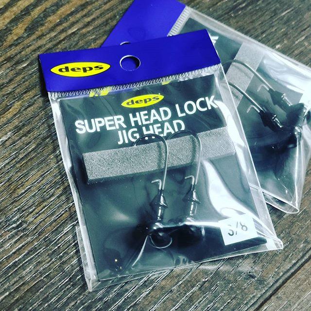"""""""スーパーヘッドロックジグヘッド""""補充。3/8oz以外もリリースして欲しいです…#deps #デプス #ディープフットボールの不朽の名作 #ヘッドロックジグ #のジグヘッド #自作に最適"""
